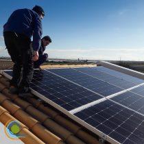 Installazione dei moduli fotovoltaici
